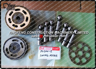 High Self Priming Capability Excavator Hydraulic Pump Parts Set Plate Piston Cylinder block  Komatsu PC200-5 / HPV90