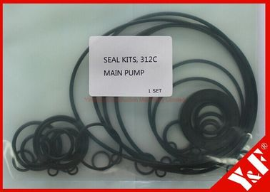 Durable Construction Machinery Excavator Spare Parts Seal Kits CAT Cat312c